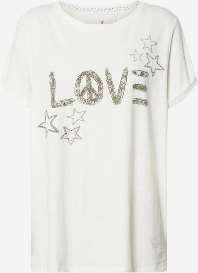 LIEBLINGSSTÜCK Koszulka 'DruanaL' w kolorze offwhitem, Podgląd produktu