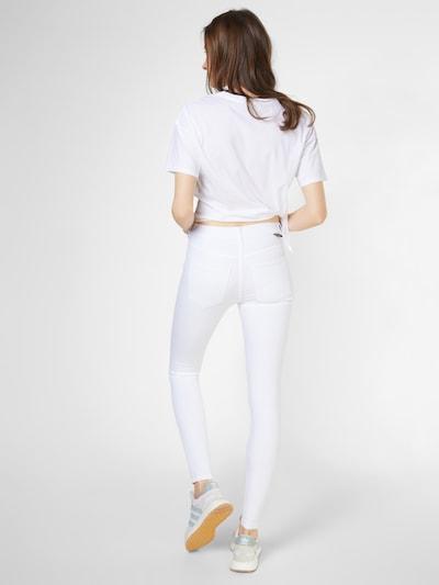 Dr. Denim 'Lexy' Skinny Jeans in weiß: Rückansicht