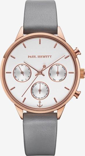 Paul Hewitt Uhr 'Everpulse' in rosegold / silbergrau / naturweiß, Produktansicht
