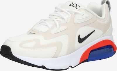 Nike Sportswear Sneakers laag 'AIR MAX 200' in de kleur Beige / Zwart, Productweergave