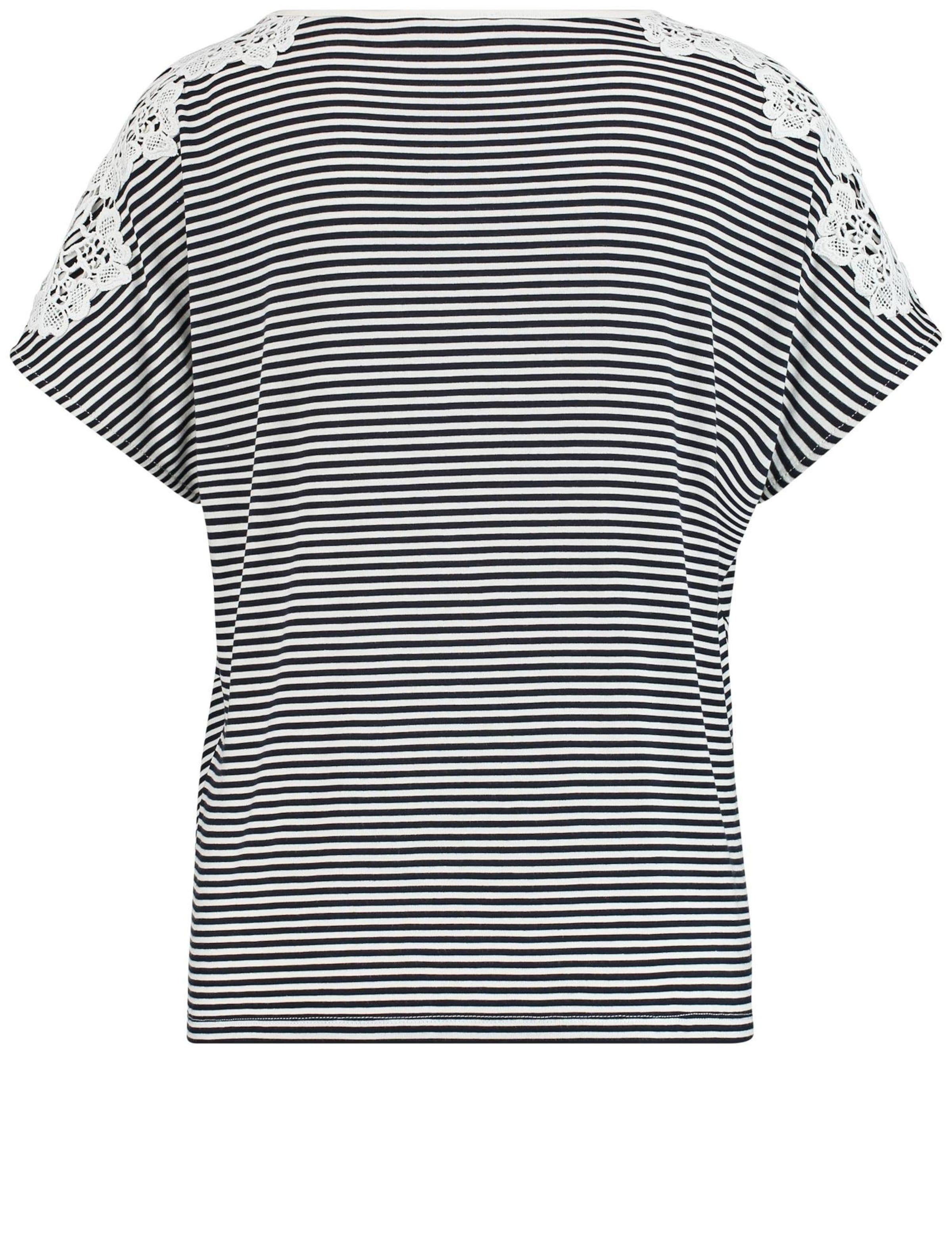Weber Shirt Gerry In NachtblauWeiß Gerry Weber jSUzMVpqLG