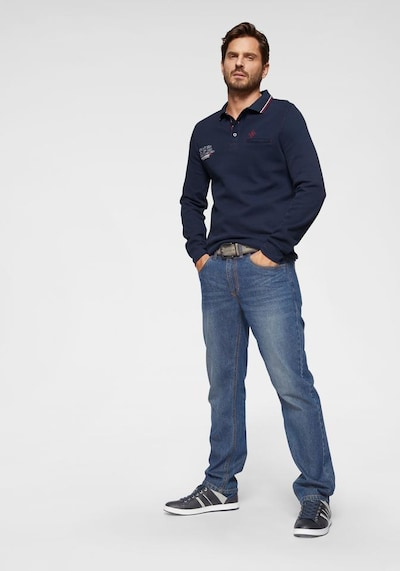 ARIZONA Jeans 'Scott' in blue denim, Modelansicht