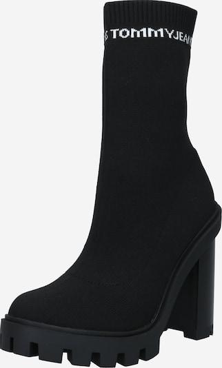 Tommy Jeans Botki w kolorze czarny / białym, Podgląd produktu