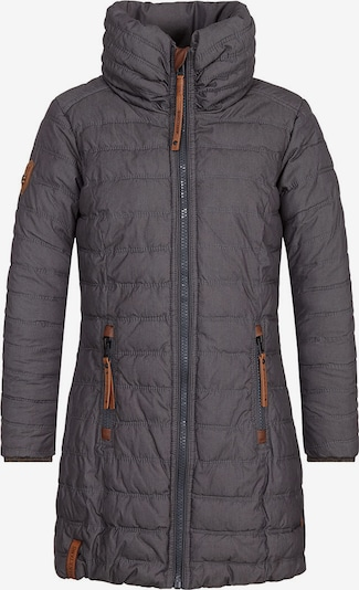 naketano Wintermantel in de kleur Donkerblauw / Brons, Productweergave
