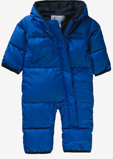 COLUMBIA Schneeanzug 'Snuggly Bunny' in blau, Produktansicht