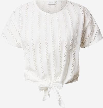 VILA T-Shirt 'VIPILINE S/S TIE T-SHIRT/L' in offwhite, Produktansicht