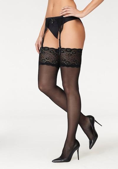 LASCANA Дълги чорапи '20DEN' в черно, Преглед на продукта