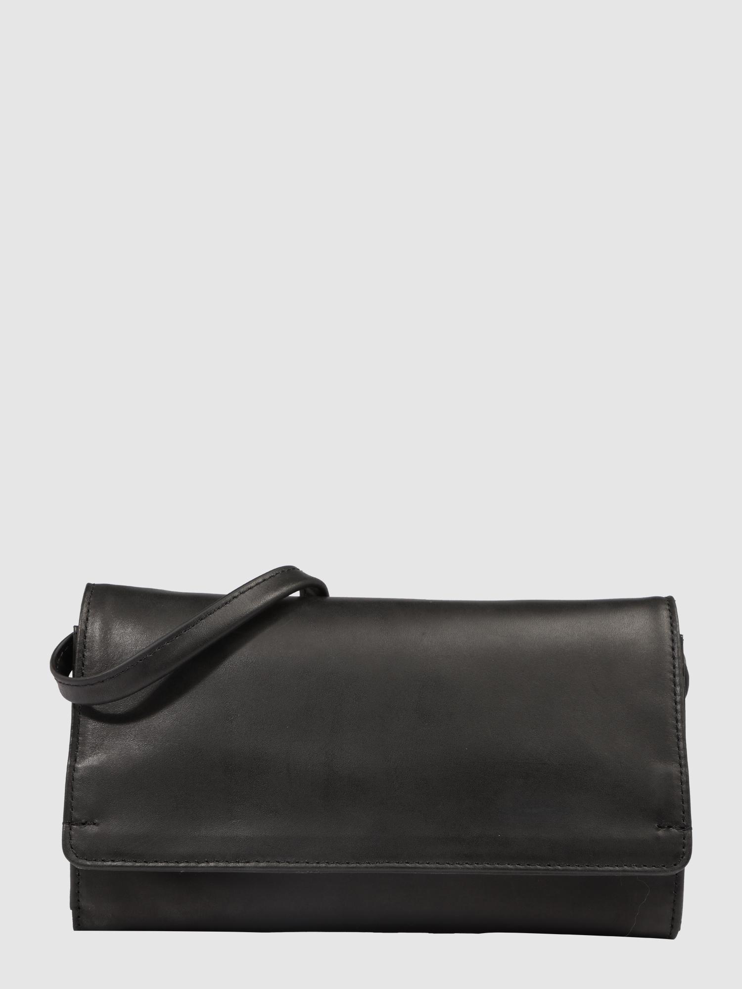 marc o 39 polo portemonnaie tasche aus kuhleder in schwarz. Black Bedroom Furniture Sets. Home Design Ideas