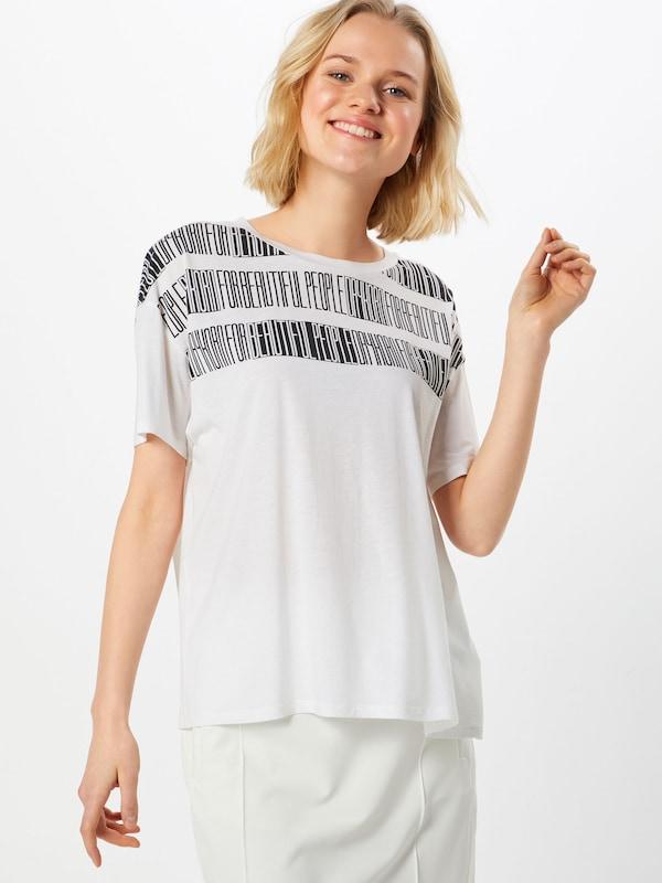 T En p12' shirt Oversize Drykorn NoirBlanc 'kyla kiZXTuOP