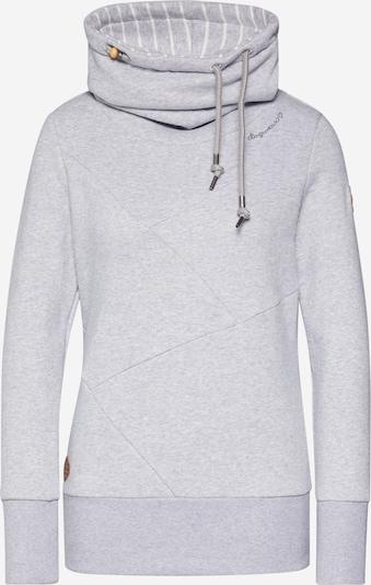 Ragwear Sweatshirt 'VIOLA' in hellgrau: Frontalansicht