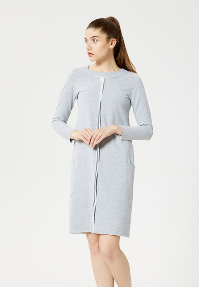 TALENCE Kleid in grau, Modelansicht