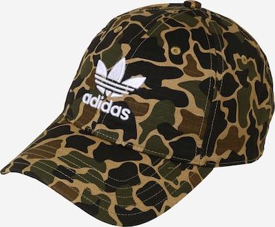 ADIDAS ORIGINALS Baseballcap in braun / khaki / weiß, Produktansicht