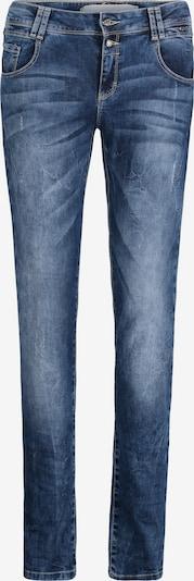 Cartoon Boyfriend-Hose in blau, Produktansicht