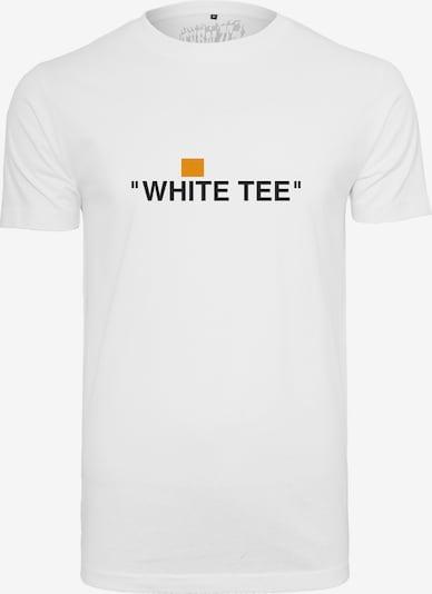 Mister Tee T-Shirt in schwarz / weiß: Frontalansicht