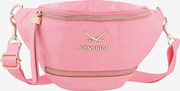 SANSIBAR Gürteltasche in Pink