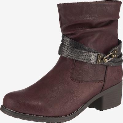 JANE KLAIN Boots in anthrazit / bordeaux, Produktansicht
