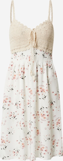 Hailys Kleid 'Kana' in mischfarben / weiß, Produktansicht