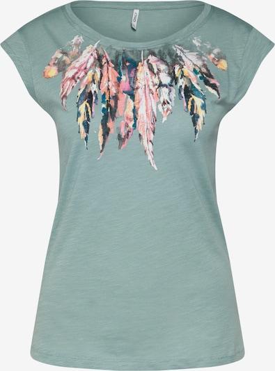 ONLY Shirt in pastellgrün / mischfarben, Produktansicht