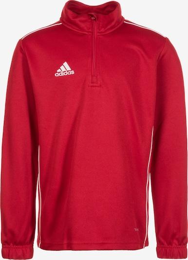 ADIDAS PERFORMANCE Trainingsshirt  'Core 18' in rot / weiß, Produktansicht