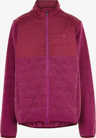 COLOR KIDS Fleece Jacket in Purple