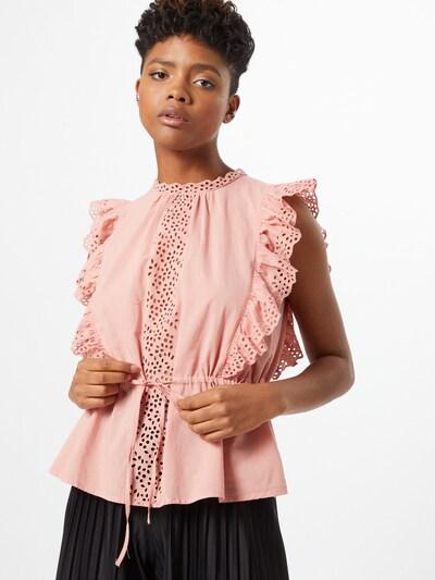 VERO MODA Blouse 'LEAH' in de kleur Oudroze, Modelweergave