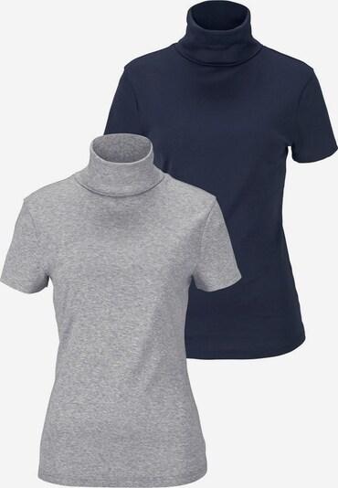 FLASHLIGHTS Rollkragenshirt (Packung, 2er-Pack) in nachtblau / grau, Produktansicht