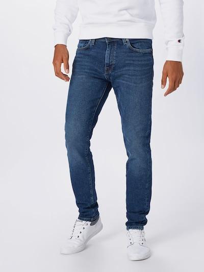 SELECTED HOMME Jeansy 'LEON' w kolorze niebieski denimm, Podgląd na modelu(-ce)