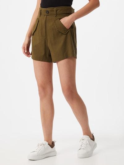 VILA Kalhoty - olivová, Model/ka