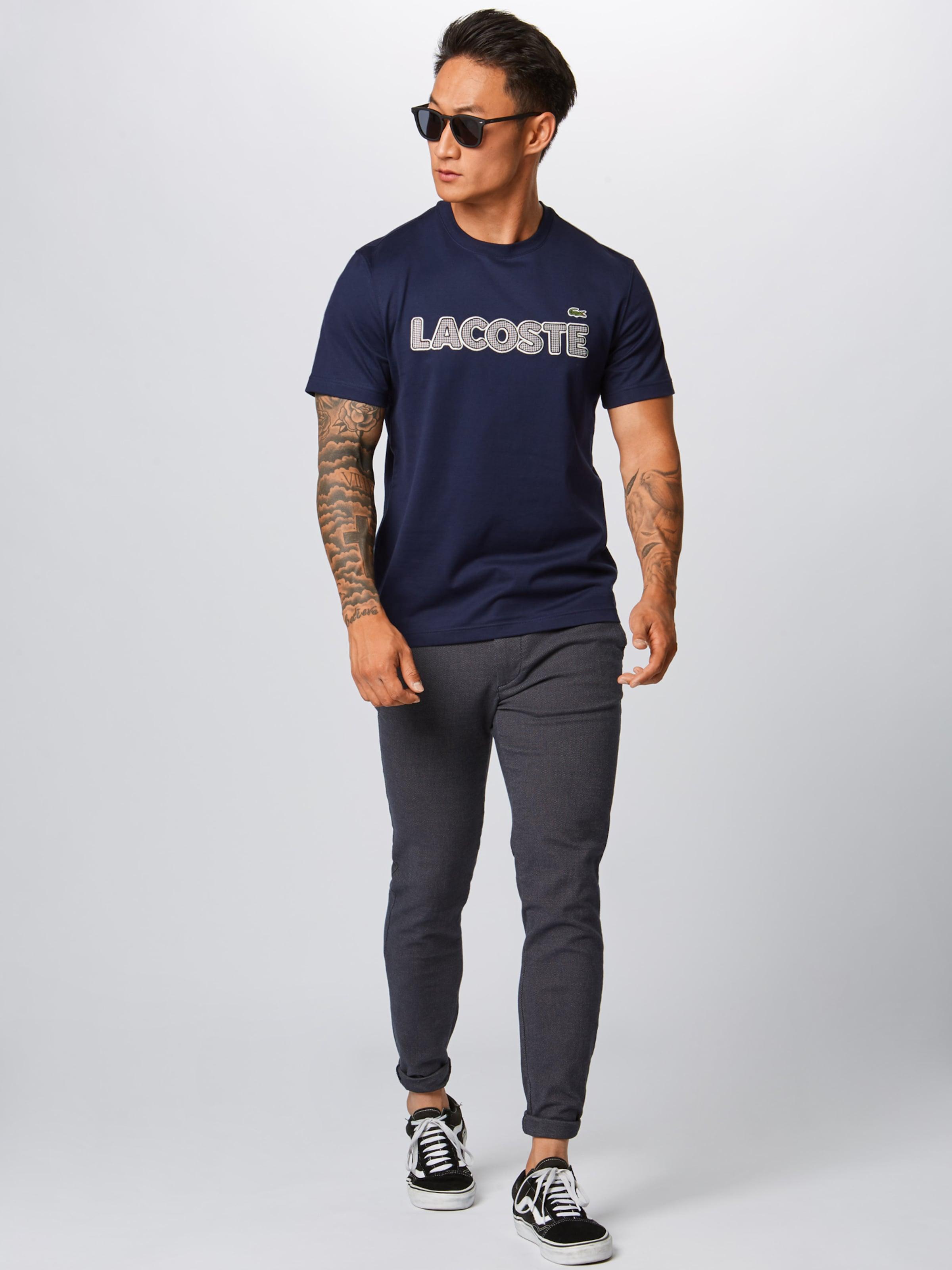 Lacoste T shirt T Lacoste shirt En Marine IDHeYE29W
