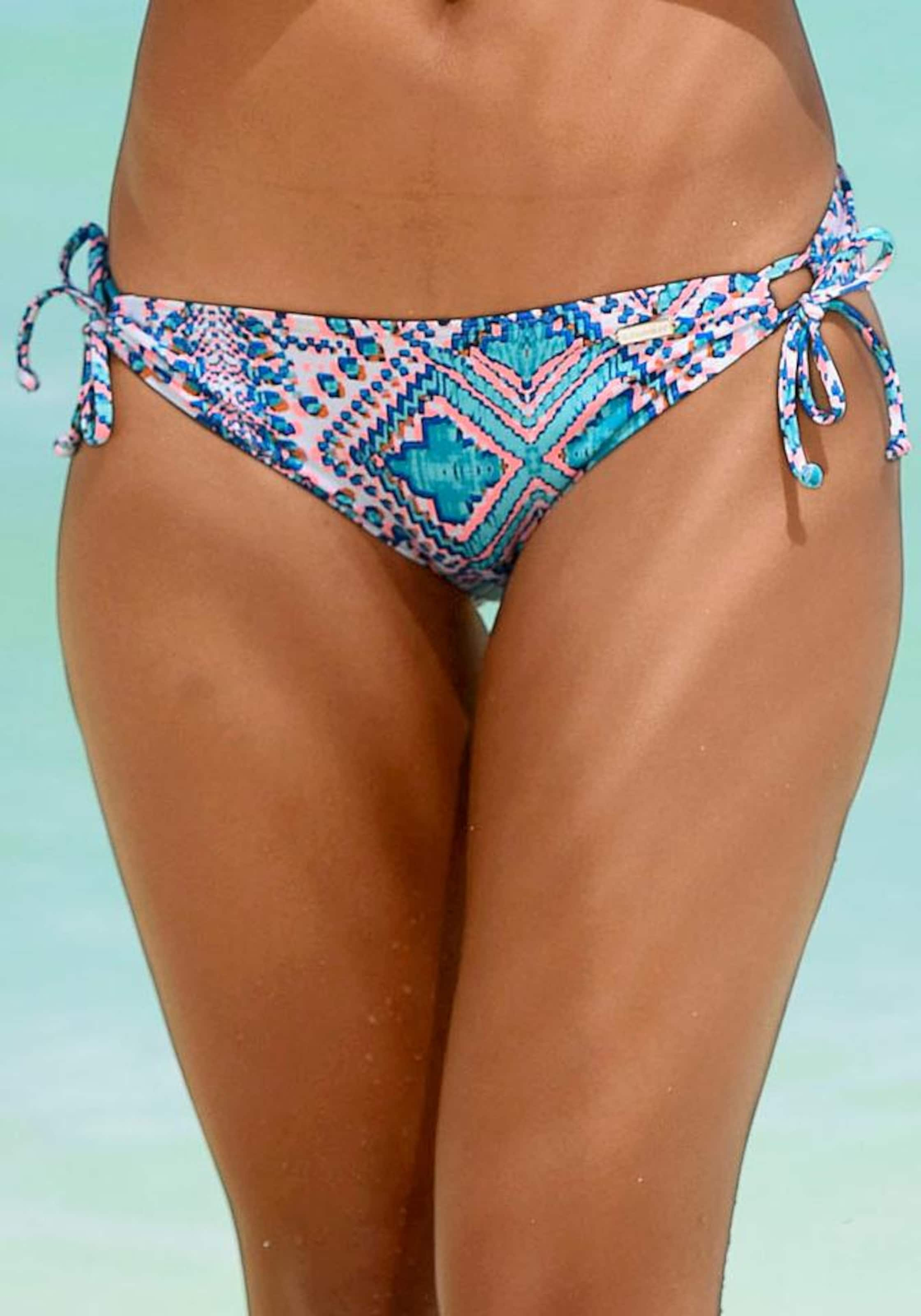 Sunseeker hose Orange Weiß NavyAqua Bikini In 0wymN8nvO