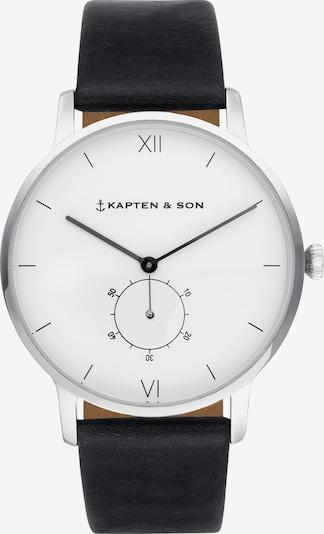Kapten & Son Analogové hodinky 'Heritage Silver' - černá / stříbrná, Produkt