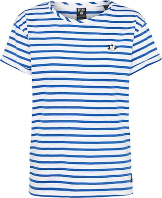 SCOTCH & SODA T-Shirt 'Felix Ams Blauw'
