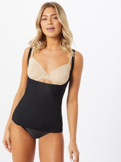 fekete MAGIC Bodyfashion Alakformáló felsők 'Maxi Sexy Wear': Elölnézet