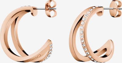 Calvin Klein Damen-Creole in rosé, Produktansicht