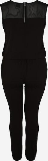 Urban Classics Curvy Jumpsuit in schwarz: Rückansicht
