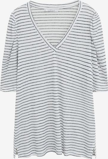 VIOLETA by Mango Koszulka 'Monaco' w kolorze szary / nakrapiany białym, Podgląd produktu