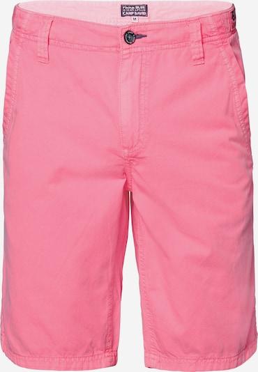 CAMP DAVID Chino Shorts in pink, Produktansicht