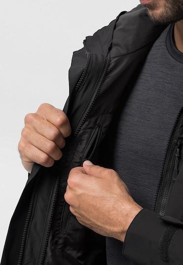 JACK WOLFSKIN Jacke 'Seven Peaks' in schwarz, Produktansicht