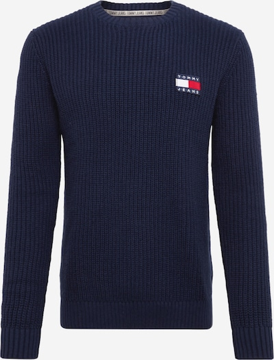 Tommy Jeans Pullover in dunkelblau, Produktansicht