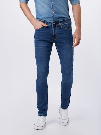 Pepe Jeans Jeans 'Finsbury' in blue denim, Modelansicht
