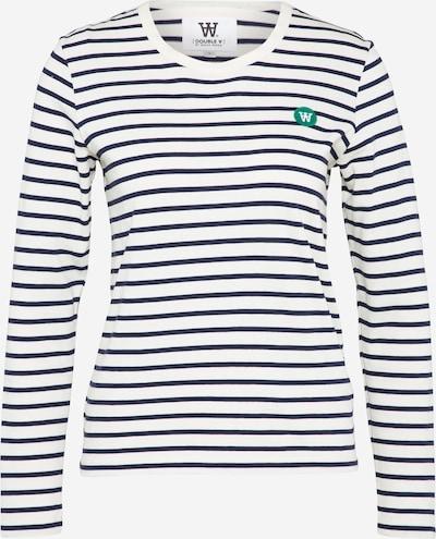 WOOD WOOD T-shirt 'Moa' en noir / blanc, Vue avec produit