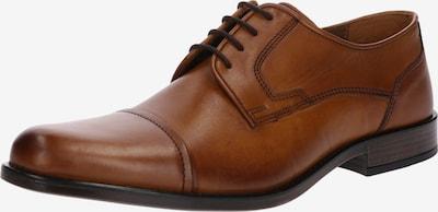 Pier One Chaussure à lacets '7811' en cognac, Vue avec produit