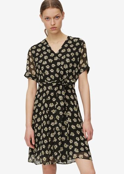 Marc O'Polo Kleid in beige / gelb / schwarz, Modelansicht