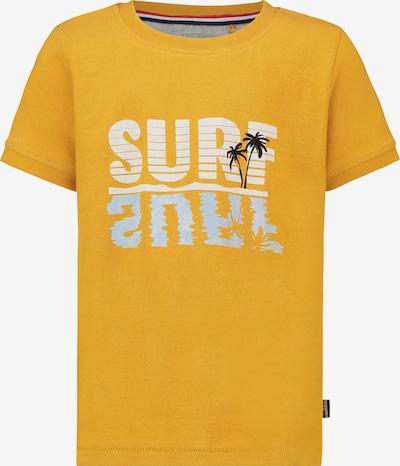 Noppies T-shirt 'Jensen' in hellblau / gelb / schwarz / weiß, Produktansicht