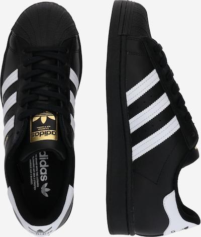 ADIDAS ORIGINALS Sneaker in schwarz / weiß: Seitenansicht