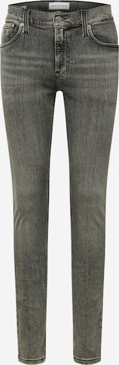 Jeans Calvin Klein Jeans pe denim gri, Vizualizare produs