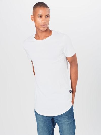 TOM TAILOR DENIM T-Shirt en blanc: Vue de face