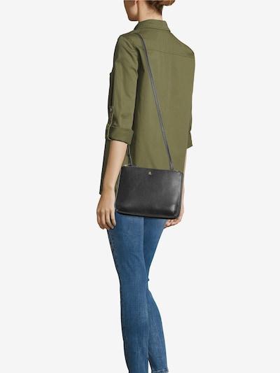 Geantă de umăr 'CARTER 26' Lauren Ralph Lauren pe negru: Privire frontală