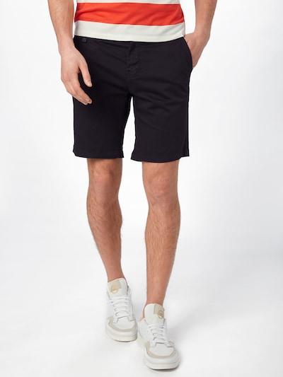 Casual Friday Shorts in schwarz: Frontalansicht