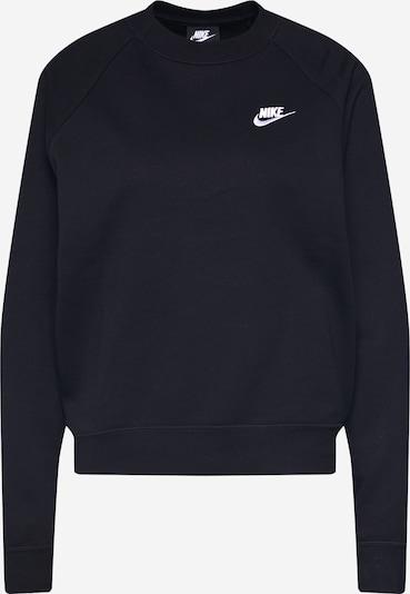 Nike Sportswear Sweat-shirt en noir, Vue avec produit